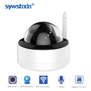 1080P Wire&Wireless IP Camera P2P Email Alarm Home Security Wifi IP Camera with TF Card Slot Optional 5MP 2MP Audio