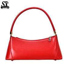 Women Handbags Casual Solid Shoulder Bags for 2019 OL Ladies Armpit Dinner bag Business Baguette