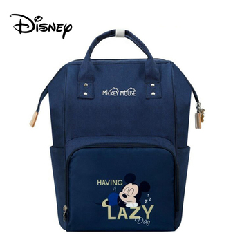 Disney Mickey USB Mommy Maternity Diaper Bags Large Capacity Baby Organizer Travel Baby Care Bag Fashion Mom Diaper Bag Backpack - BB0167