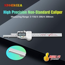 Digital-Display-Caliper Measurement 4-300mm Specification 3-150mm High-Precision Groove