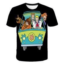 3D Cartoon Print t-shirt Children Boy Clothes Tops Animal Dog T-shirt Girl Clothes Funny Kawaii Clothes Anime t-shirts 4-14T