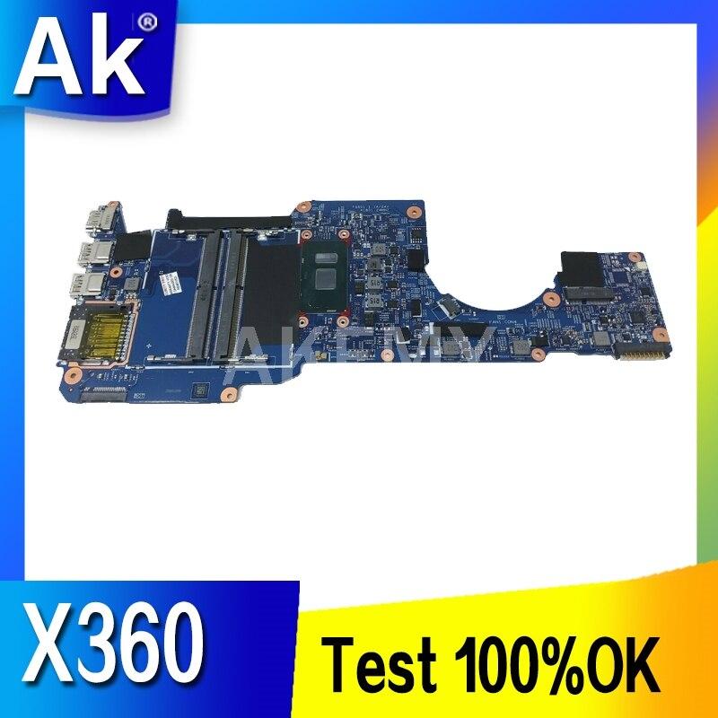 Материнская плата Akemy для ноутбука HP Envy X360 13Z-AG 13M-AG 13-AG, Ryzen 5 2500U 8 ГБ, L19574-601 17885-2 448.0EC05.0021