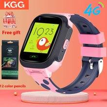 Y95 4G çocuk akıllı saat telefon GPS çocuklar akıllı saat su geçirmez Wifi Antil kayıp SIM konum izci Smartwatch HD görüntülü görüşme