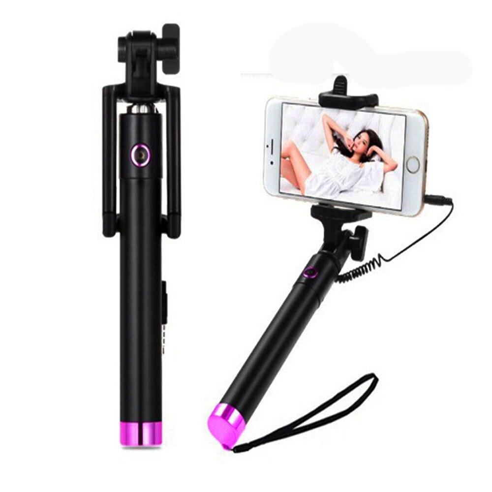 Портативный раздвижной монопод, селфи-Палка для iPhone, смартфона, Прямая поставка