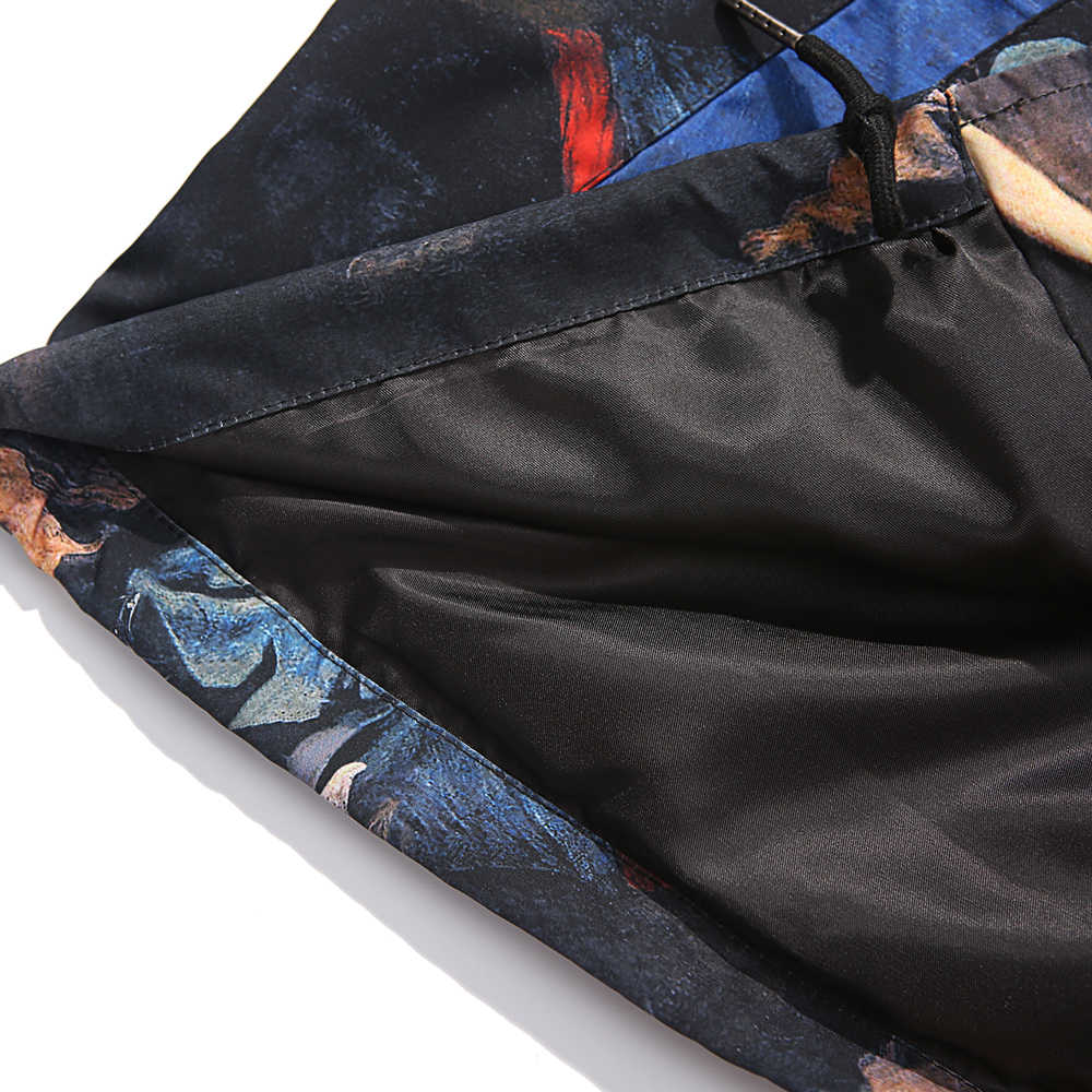 Gothic Liberty Leidt De Mensen Schilderen Gedrukt Windbreaker Coaches Jassen Hip Hop Streetwear Boyfriend Gift Mannen Kleding