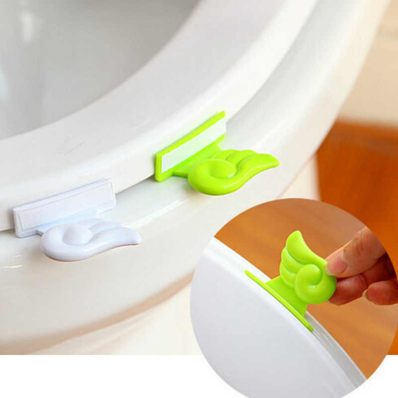 Portable Sanitary Toilet Seat Cover Lifter Toilet Bowl Seat Cover Lift Handle Toilet Seat Cover  Free Shipping