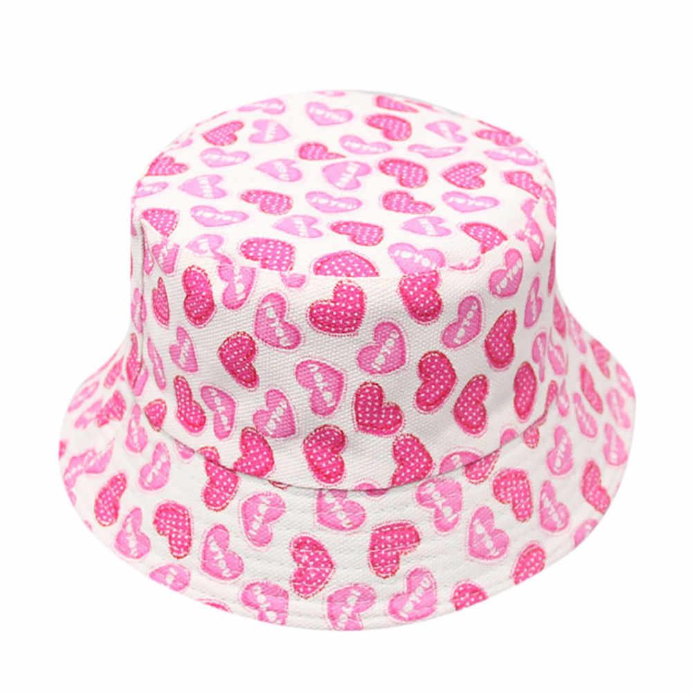 Sombrero de bebé de moda para niños y bebés, niños, niñas, patrón Floral, sombreros de cubo, gorras de casco de sol