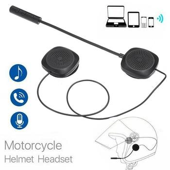 bluetooth 5.0 Wireless Handsfree Stereo Earphone Moto Motorcycle Helmet Headphones MP3 Speaker for Full-face Half-face Helmet motorcycle helmet headset bluetooth 5 0 edr headphones microphone wireless handsfree stereo earphone mp3 call control