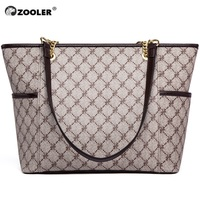 ZOOLER Brand large travel Shoulder Bags functional handbags tote bags designer ladies handbag Luxury Pattern Women Totes AH200