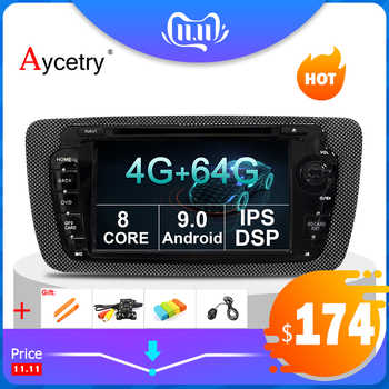 4G 64G Android 9.0 2 din Car multimedia DVD player Stereo for Seat Ibiza auto Radio fm GPS navigation wifi Steering wheel BT DAB - DISCOUNT ITEM  30 OFF Automobiles & Motorcycles