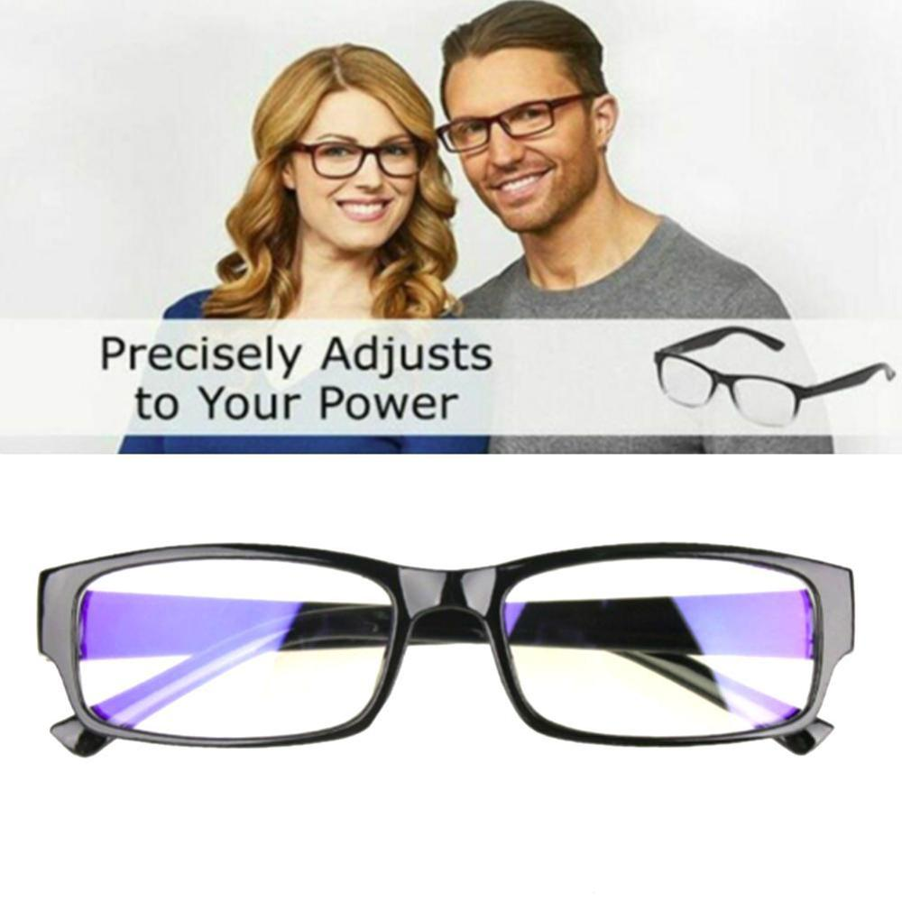 Dial Vision Reading Adjustable Eye Glasses Flex Clear Focus Auto Adjusting Optic Reading Glasses