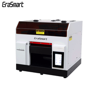A4 Flat Bed Glas Led Uv Printer Roll Hout Vernis Uv Printer Machine Voor Cup Pcb Hout