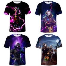 Kids T shirt Leon T Shirt Boy Girl 3D Print Casual Shirt 2020 New Anime Carton Star Tshirt Tops T-shirt