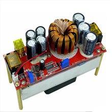 Conversor de tensão dc, conversor de voltagem cv boost módulo ajustável fonte de alimentação 1800w 40a DC-DC 10v-regulador 60v para 12v-90v