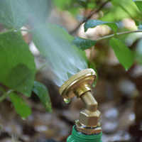 "Male 1/2"" Brass Spray Misting Nozzle Refraction nozzle Garden Fog nozzle Irrigation Watering Garden Tools 1pcs"