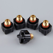 Back-Caps Torches WP9 WP25 41V33 Welding-Cutting Consumable-Part TIG WP20 Short for Soldering