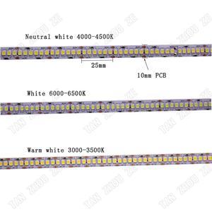 Image 4 - CRI 80 + 5mm 10mm PCB 12V 24V LED רצועת 2835 120 נוריות 240 נוריות/ m דיודה גמיש אור קלטת 4000K 6000K Neutural לבן חם לבן 5M