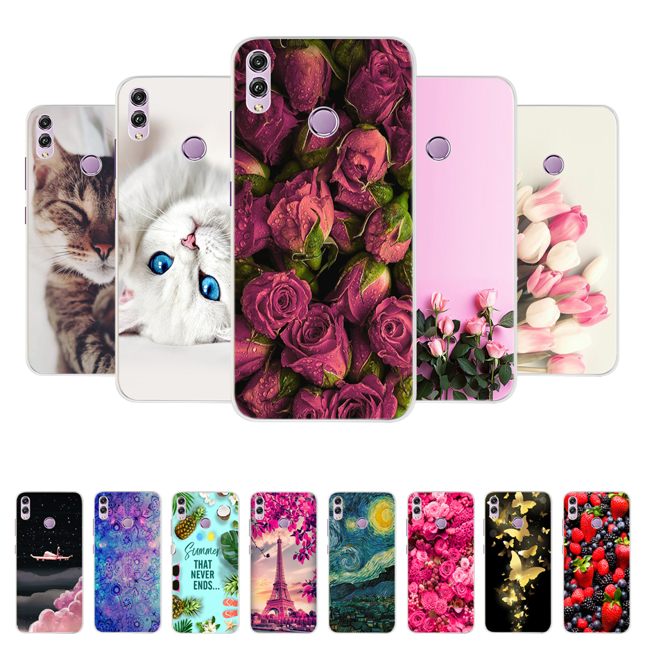 For Coque <font><b>Huawei</b></font> <font><b>Honor</b></font> <font><b>8X</b></font> 6.5 inch Case Silicone Soft TPU Back Phone Case For <font><b>Huawei</b></font> <font><b>Honor</b></font> <font><b>8X</b></font> Case Cover <font><b>Honor</b></font> 8 X Honor8X X8 image
