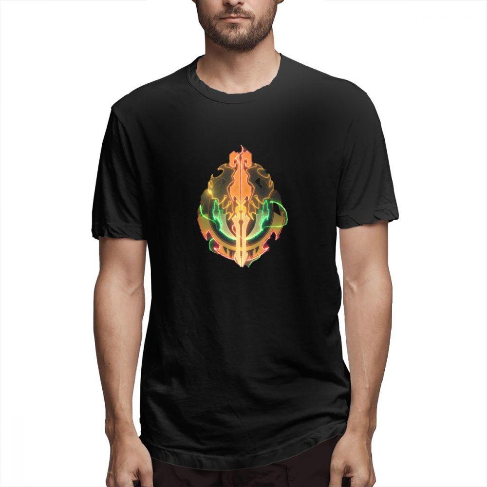 Men T-Shirts Summer Men's Short Sleeve T-shirt Casual Cotton Cool Overlord printing t shirt men tee shirt Fun 5XL