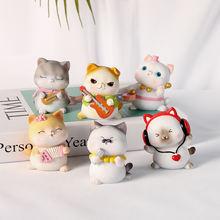 Милый котенок ремесло подарок индивидуальное украшение для выпечки