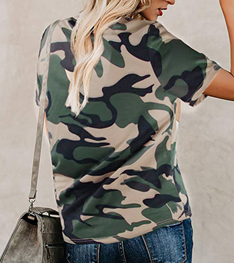 2020 Spring Summer New Women T-shirt Casual Leopard Print Round Neck Short Sleeve Shirt Ladies Tops Tees Womens Clothing  (14)