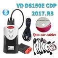 2021 лучший Obd-сканер Vd Ds150e Cdp 2017.R3 генератор ключей для дельфина с Bluetooth автомобильные и грузовые профессиональные диагностические инструмент...