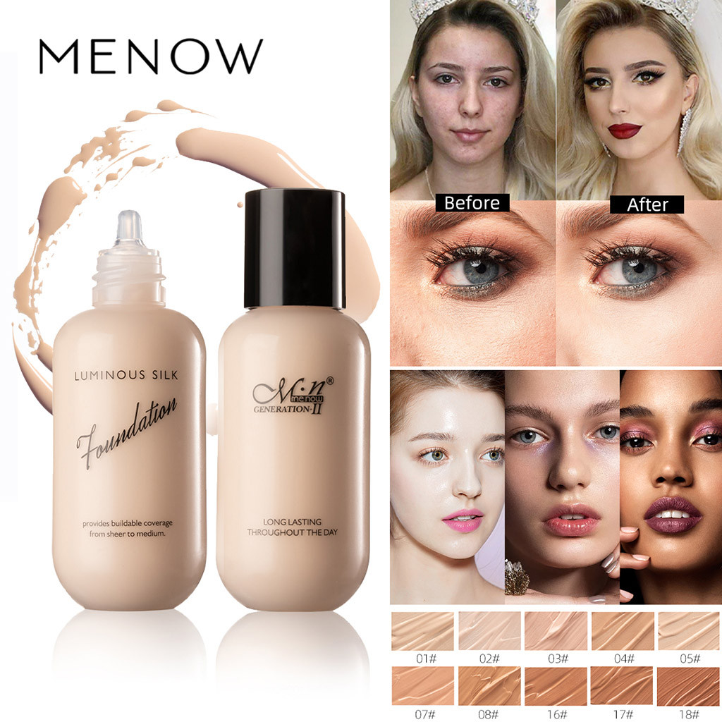 Liquid Foundation Matte Lasting Concealer Sunscreen Oil Control Foundation  Makeup Coverage Foundation Natural Maquiagem