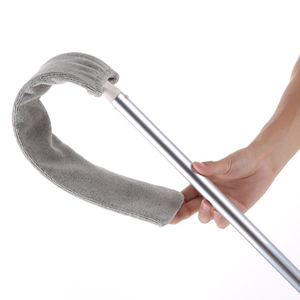Vip ссылка прикроватная щетка для пыли швабра с длинной ручкой стреловидный артефакт Бытовая кровать нижний зазор чистый мех ворс подметание пыльная Магия Microfib
