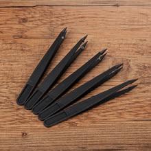 Yant Jouet ABS черный пластиковый пинцет Хама Клипсы из бисера для Хама бисер 5 мм Perler бисер инструменты железная бижутерия бисер аксессуары
