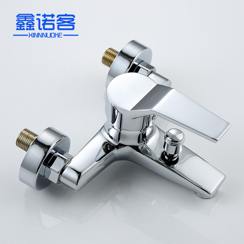 IELTS Triple Hot And Cold Faucet Concealed Copper Bathtub Faucet Mixing Valve Shower Faucet Manufacturers Wholesale
