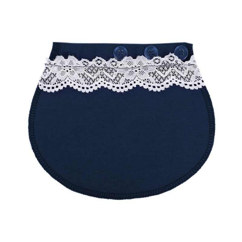 3 przycisk pas z koronki kobiety w ciąży spodnie pas-przedłużenie klamra przycisk wydłużenie przedłużony kobiety DIY do szycia odzieży