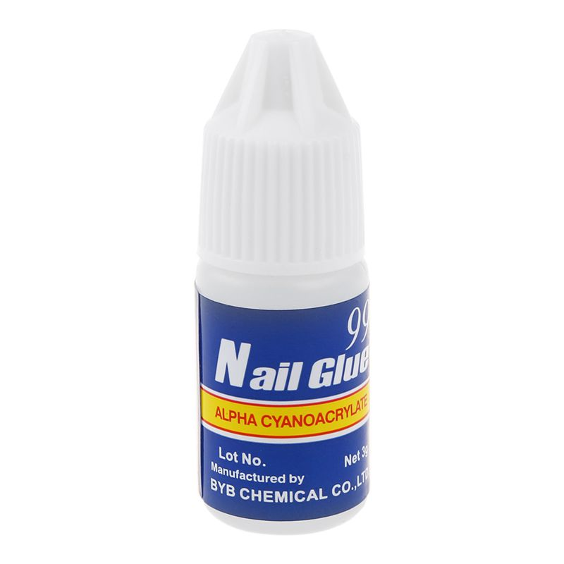 20 x 3g Professional Nail Art Glue Decoration Tips Manicure in Nail Gel from Beauty Health