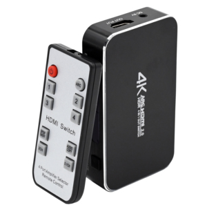 Image 2 - Switch HDMI 4x1 4K @ 60Hz Audio Ottico TOSLINK Ultra HD 4 Porte HDMI Switcher 1080p 3D per Xbox PS4 Lettore Blu Ray Roku
