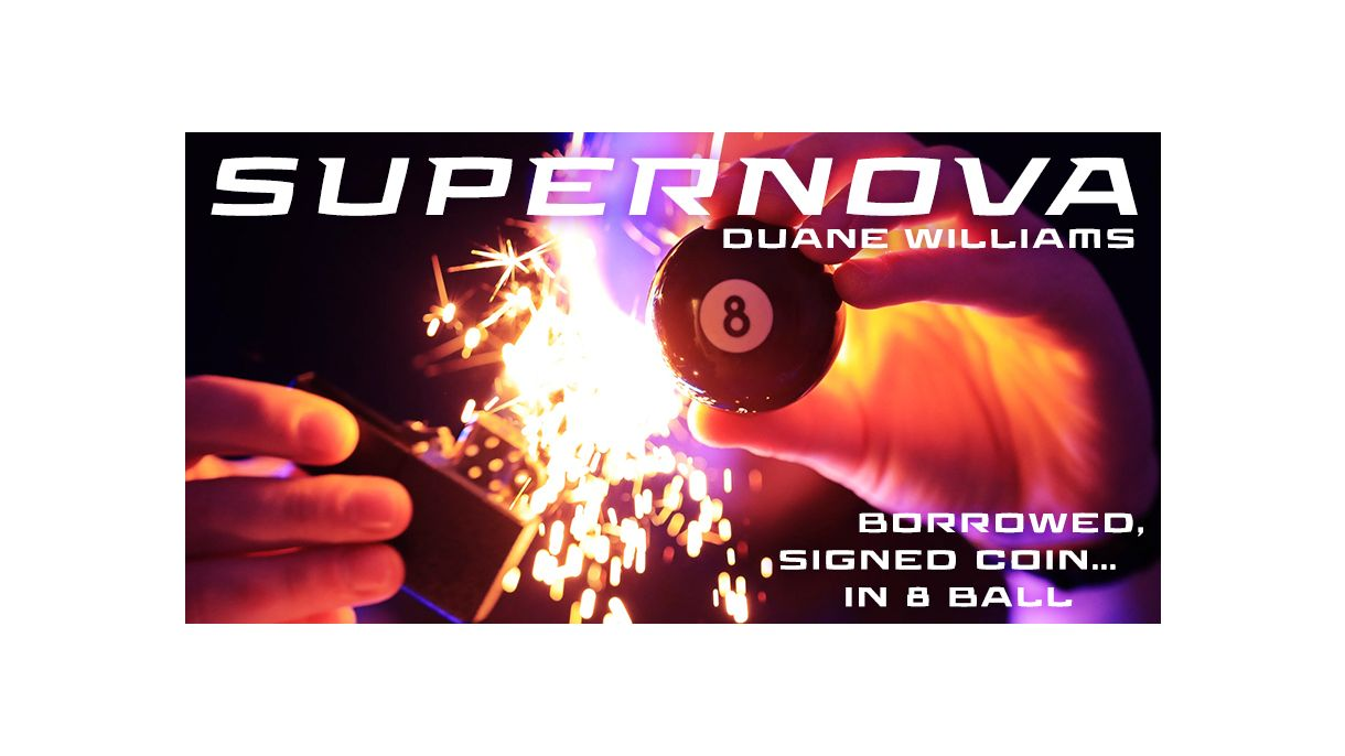 SuperNova By Duane Williams, Magic Tricks