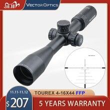 וקטור אופטיקה Tourex 4 16x44 FFP Riflescope ראשון מוקד מטוס מואה ציד רובה היקף אפס להפסיק עבור באמצע קרוב טווח ירי