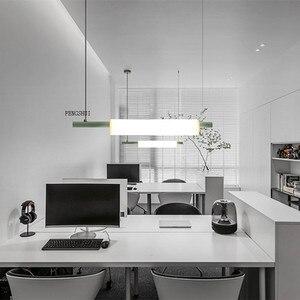 Image 3 - נורדי LED ברזל אמנות מים צינור תליון אורות תאורה הפוסטמודרנית לופט סלון ארוחת בר מנורת חדר שינה בר דקו אור גופי