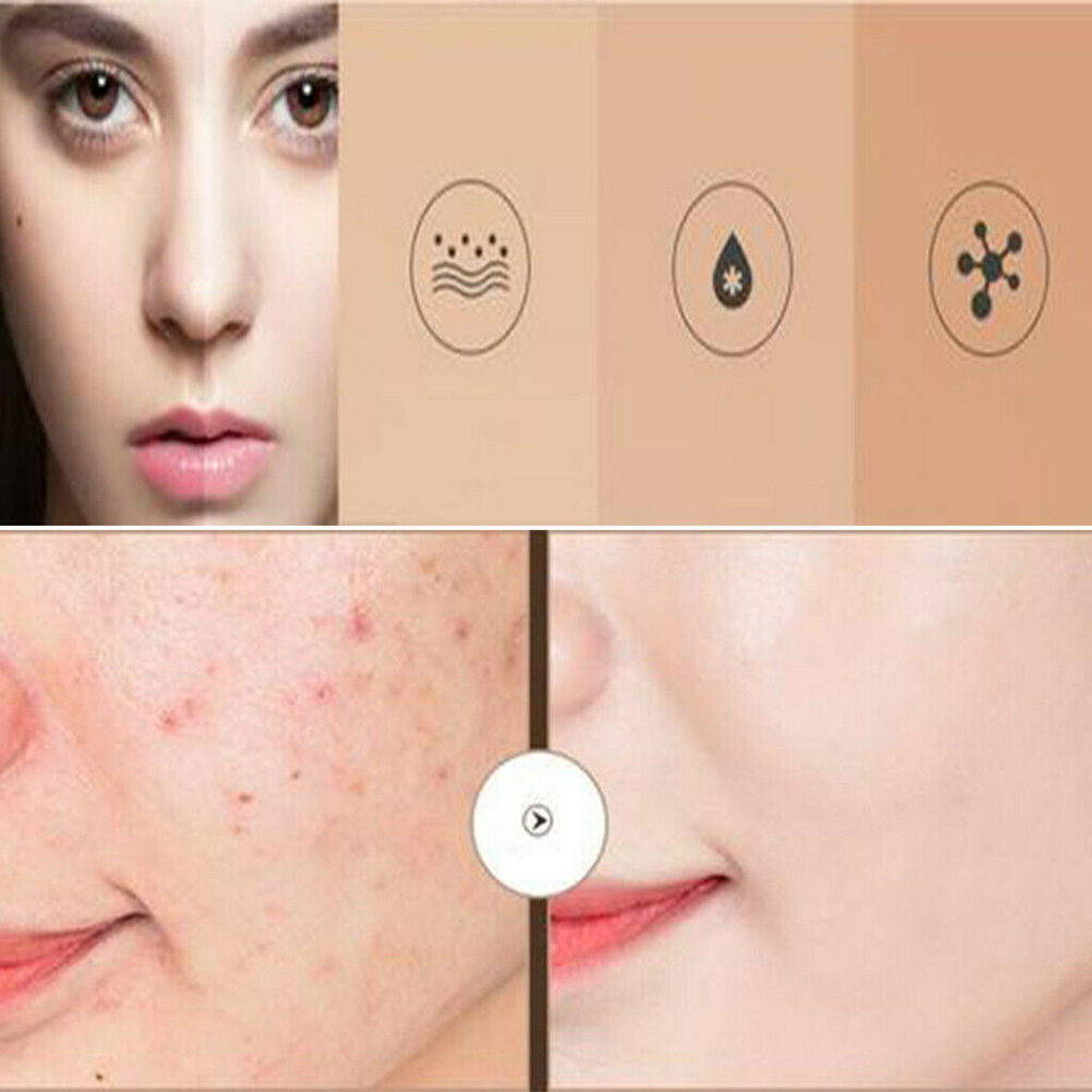 Waterproof Concealer Cream Cover Pores Scars Long Lasting Portable Moisturizing YUF99