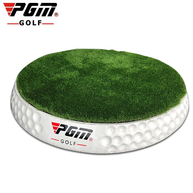 New Listing! PGM Golf Mat Adjustable Slope High Quality Green Grass Driving Range Dedicated Thick Skid Ball Mat Golf Accessories