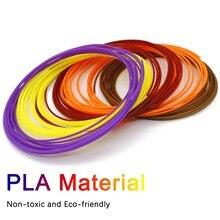 3D Pen Filament 16 Colours 5 m Each - 3D Pen Filament 1.75 mm 3D Pen Paint Set PLA 3D Tangmi pen printing materials