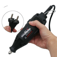 Mini amoladora eléctrica de alta calidad, 220V, ajuste de velocidad, jade tallado, pulido, micro taladro, ángulo de pluma de grabado
