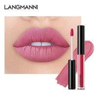 4PCS Lip Gloss Sets Long Lasting Moisturizing Waterproof Non-stick Cup Lip Glaze Lipstick Fashion Matte Lip Gloss Lips Makeup 4