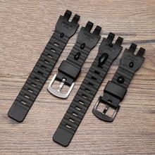 Original Silicone Watch Strap For Casio G-shock PRW-6000 PRW-6100 Soft Watch Band For  PRW-3000 PRW-3100 Watch Bracelet 16mm casio prw s6100y 1d page 1