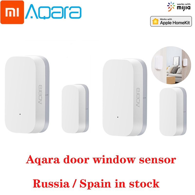 Xiaomi Aqara Door Window Sensor Zigbee Smart Home Kit Smart Remote Control Zigbee Wireless Connection Work With Mijia Aqara Hub