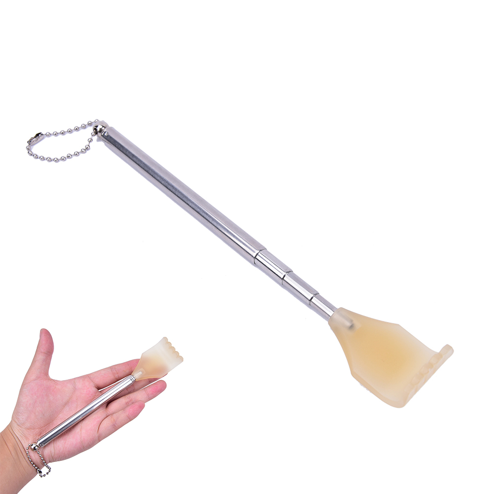 2019 New Back Scratcher Telescopic Scratching Backscratcher Massager Kit Back Scraper Extendable Telescoping Itch Hackle