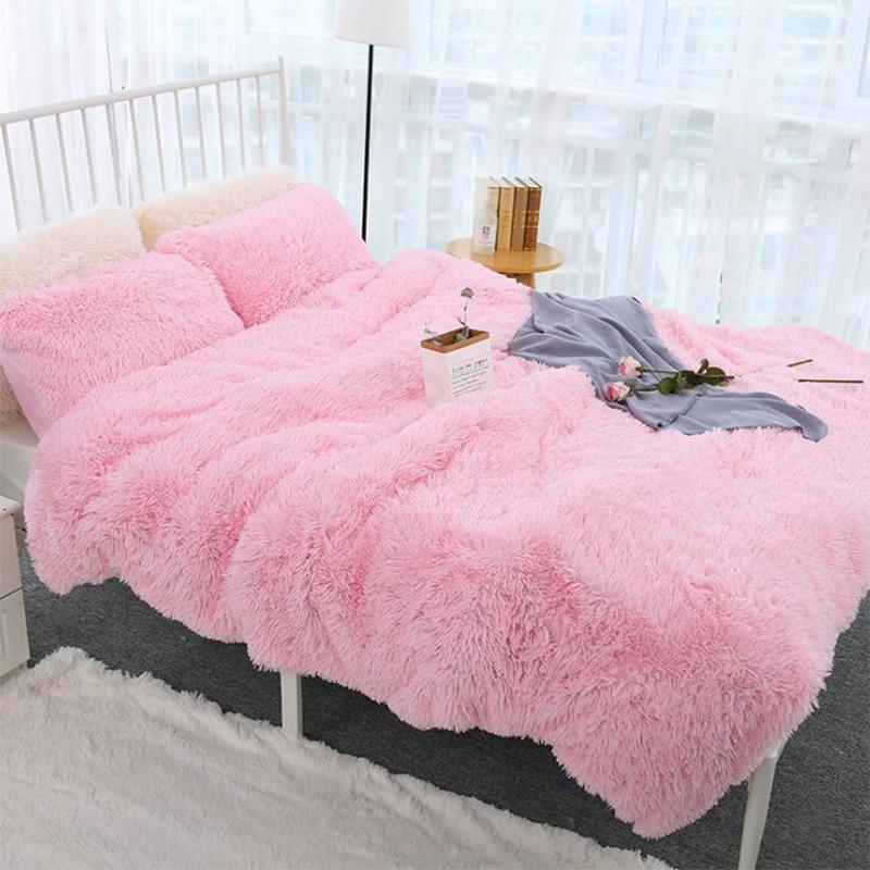 Shaggy Super Soft Coral Fleece Blanket Warm Cozy Bedding Blanket Fluffy Sofa Bedding Airplane Hotel Throw Sofa Blanket New-0