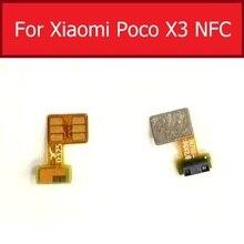 القرب المحيطة ضوء الاستشعار فليكس كابل ل شاومي Mi Poco X3 NFC فليكس الشريط استبدال أجزاء