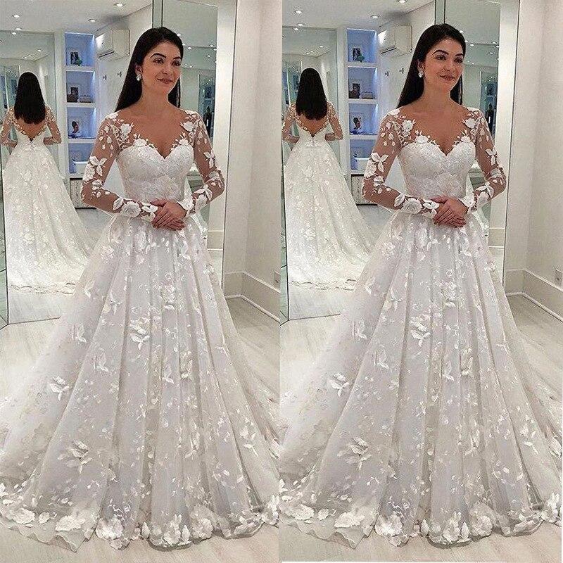 2019-New-V-Neck-Lace-Tulle-Boho-Cheap-Wedding-Dress-Beach-Bridal-Gown-Bohemian-Wedding-Gowns.jpg