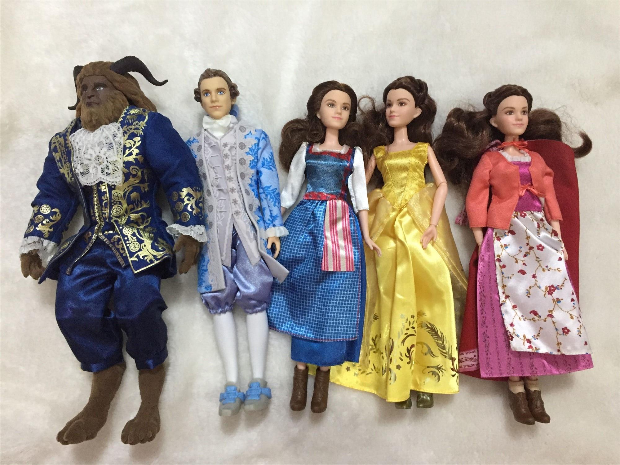 12'' Original Rapunzel Doll Rapunzel Classic Beast And Belle Doll  Figure For Girls Bjd Blyth Doll