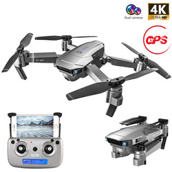 Profession GPS RC Drone With 4K HD Camera Adjustment Wide Angle WIFI FPV 50 Times Zoom Foldable Quadcopter Professional Drones
