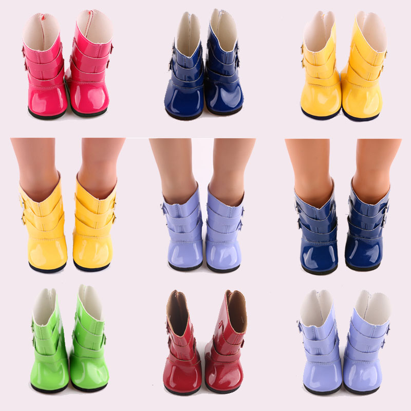 Rain Boots Colors Shoes Fit 18 Inch America & 43 Cm Born Baby Doll Clothes Accessories Our Generation Birthday Girl's Toy Gift